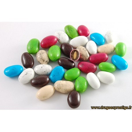 Dragées pralissimo multicolore 500g