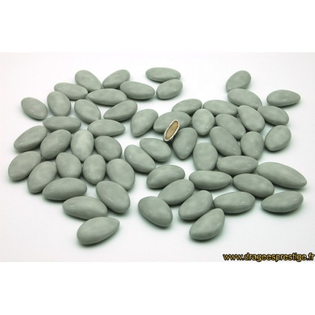 Dragées amande Avolas gris clair 1kg
