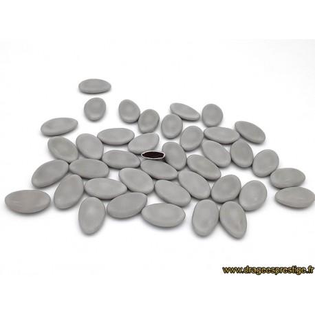 Dragées chocolat 54% gris clair 1kg