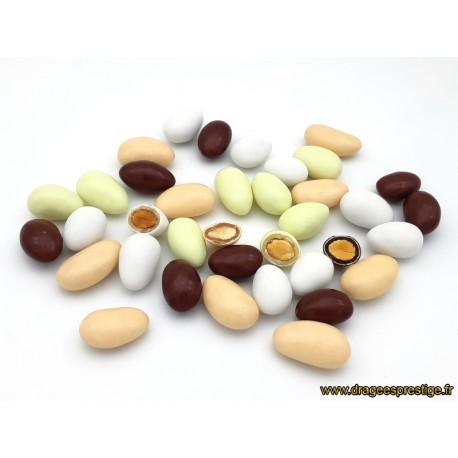 Dragées Délice 4 saveurs multicolore 500g