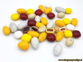 Dragées Dessertissimo 6 saveurs multicolore 500g