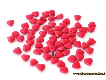 Dragées chocolat mini-coeur rouge